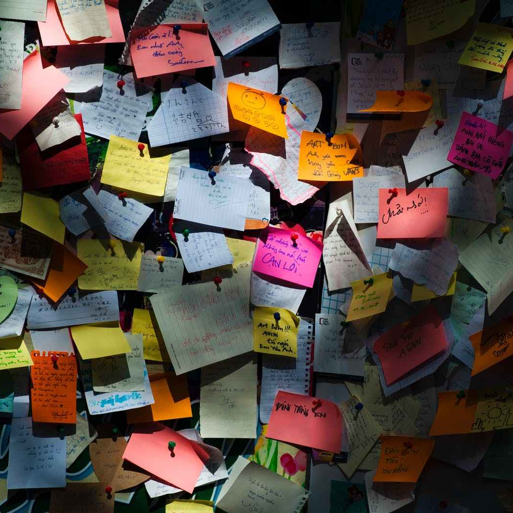 stickynotes ideas